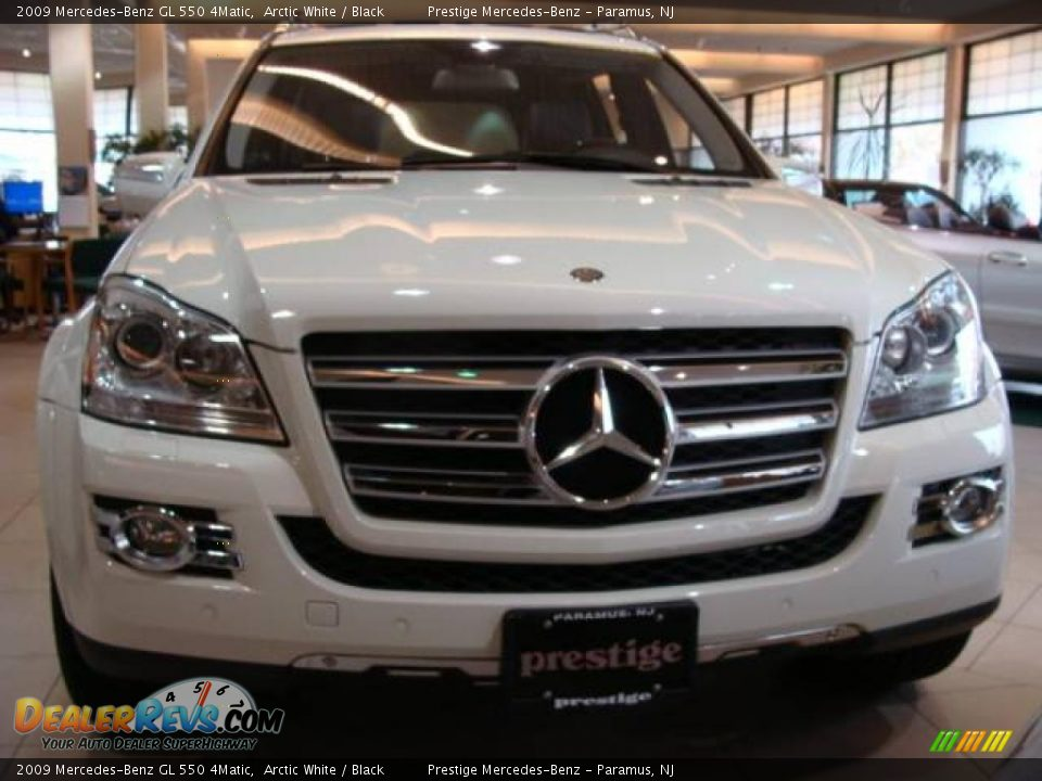 2009 mercedes benz gl 550 4matic arctic white black for 2009 mercedes benz gl550 4matic