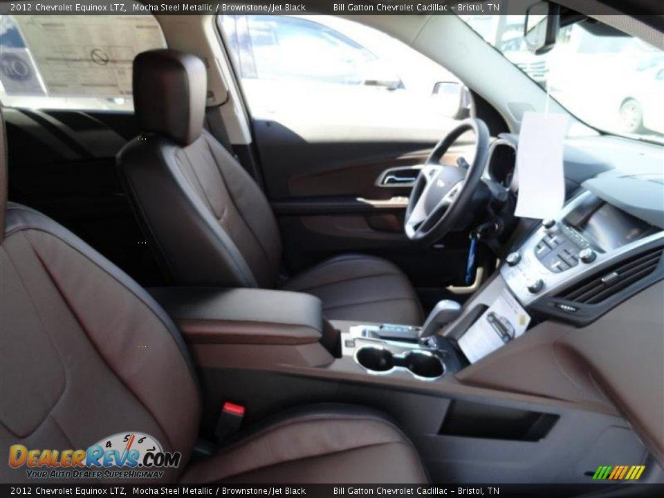 Brownstone/Jet Black Interior - 2012 Chevrolet Equinox LTZ Photo #3 ...