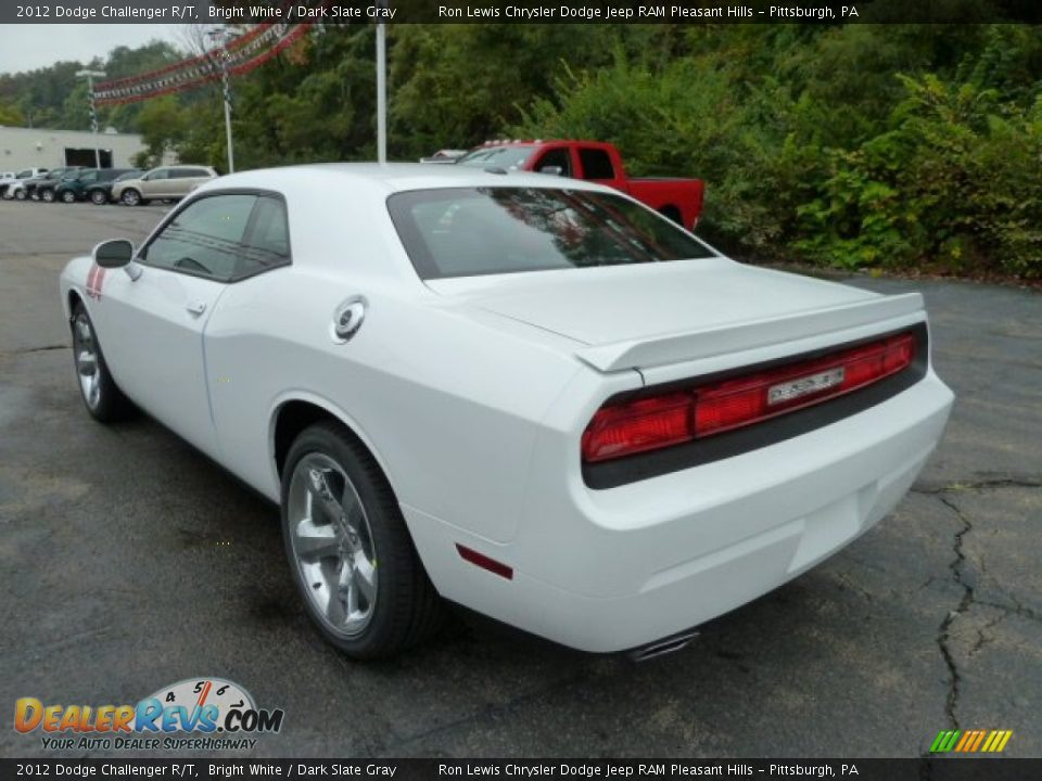 bright white 2012 dodge challenger r t photo 3. Black Bedroom Furniture Sets. Home Design Ideas