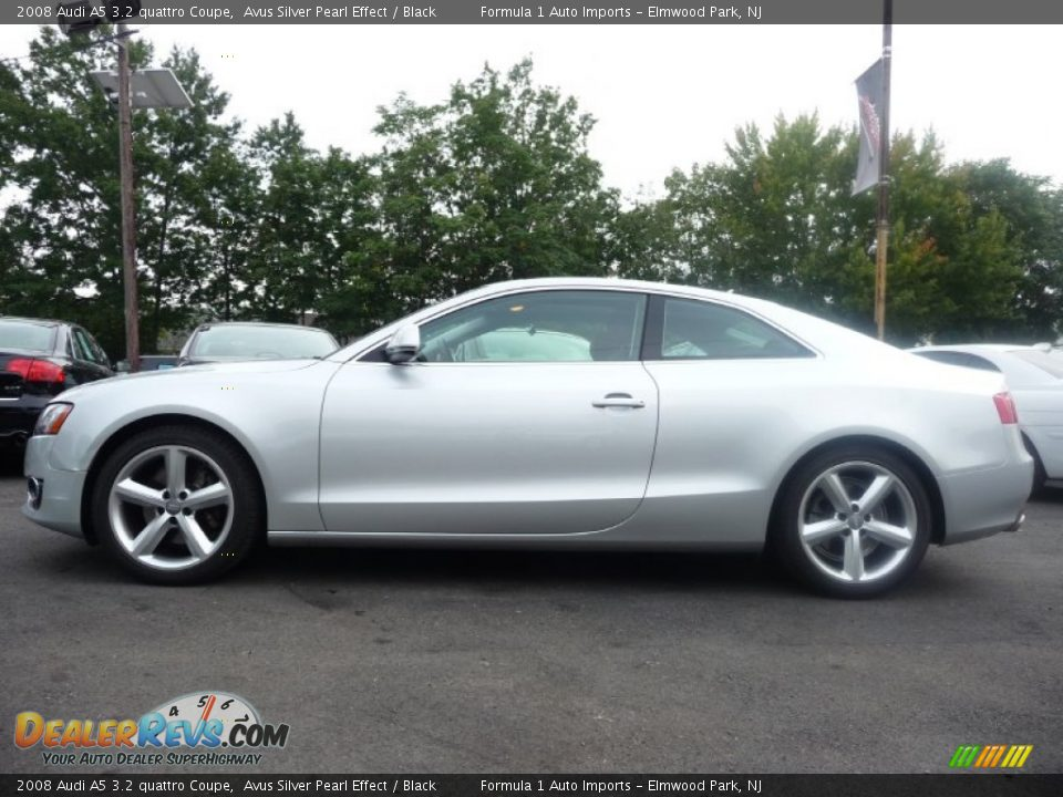avus silver pearl effect 2008 audi a5 3 2 quattro coupe. Black Bedroom Furniture Sets. Home Design Ideas