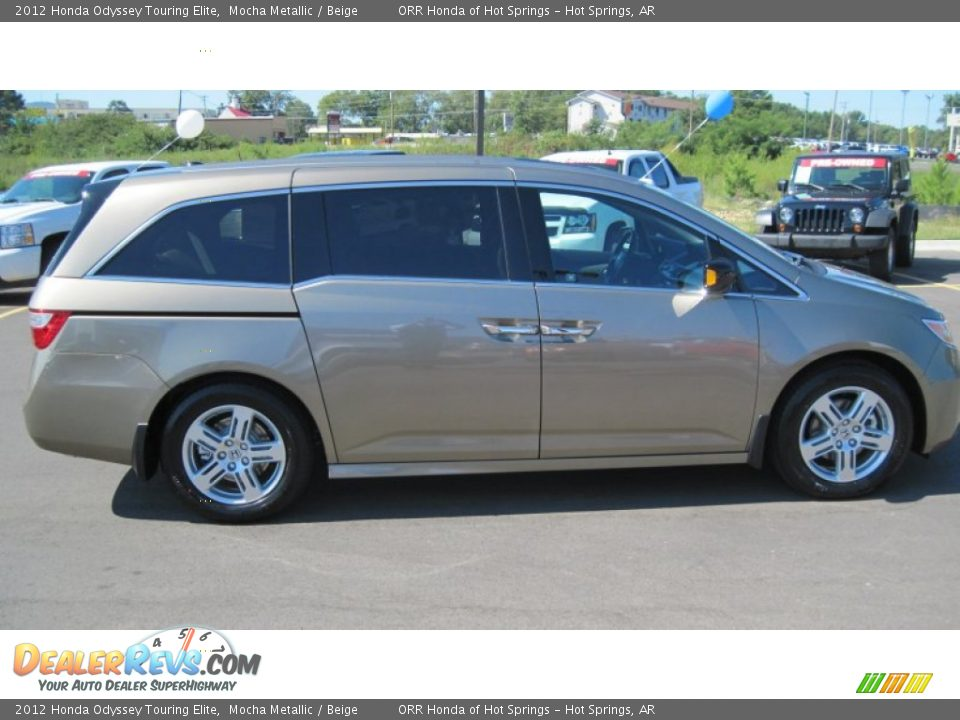 2012 honda odyssey touring elite mocha metallic beige photo 6. Black Bedroom Furniture Sets. Home Design Ideas