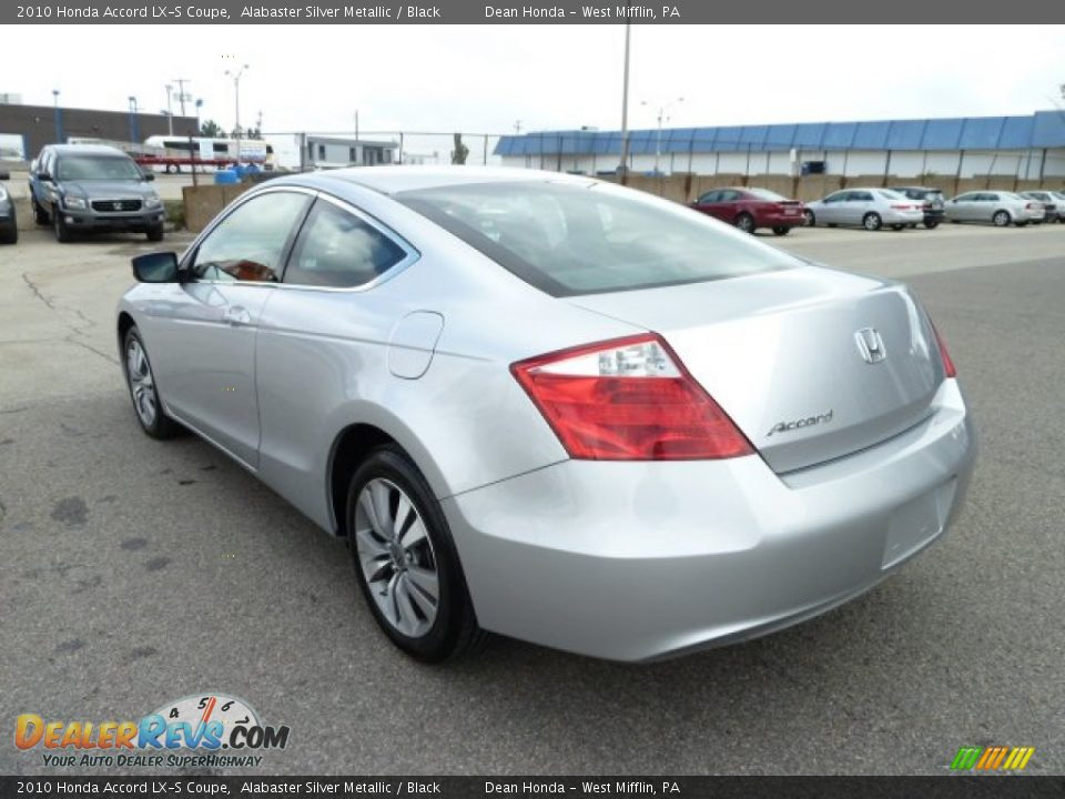2010 honda accord lx s coupe alabaster silver metallic black photo 3. Black Bedroom Furniture Sets. Home Design Ideas