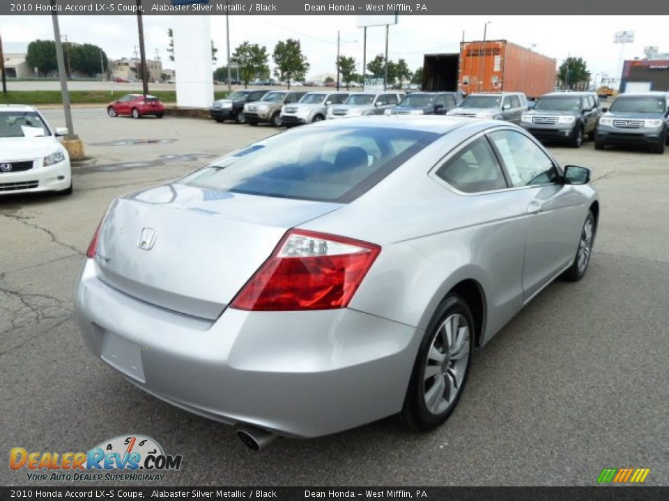 2010 honda accord lx s coupe alabaster silver metallic black photo 5. Black Bedroom Furniture Sets. Home Design Ideas