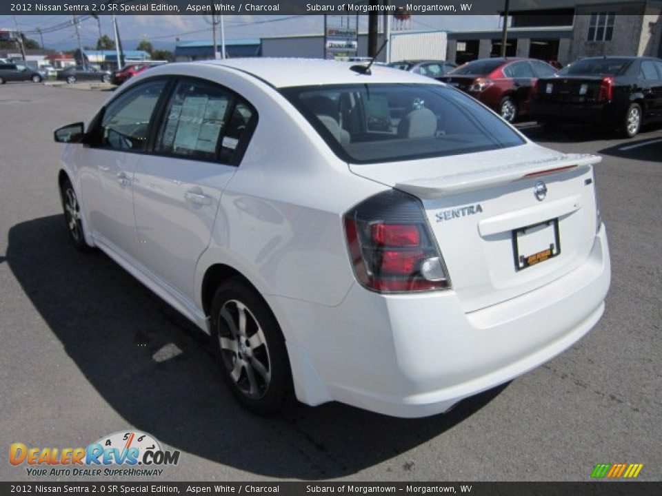2012 nissan sentra 2 0 sr special edition aspen white charcoal photo 5. Black Bedroom Furniture Sets. Home Design Ideas