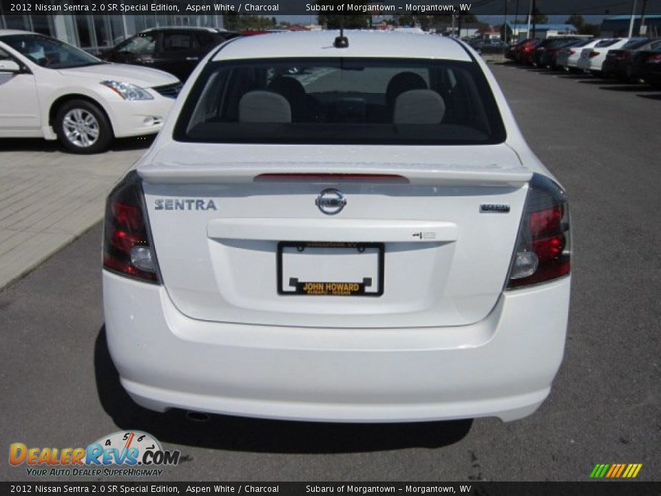 2012 nissan sentra 2 0 sr special edition aspen white charcoal photo 6. Black Bedroom Furniture Sets. Home Design Ideas