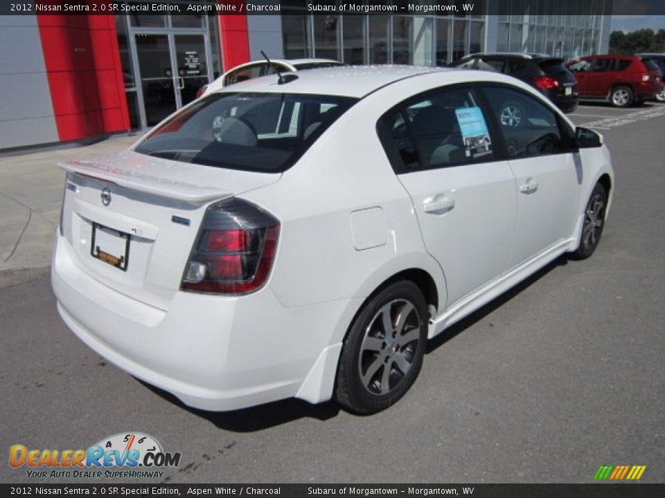 2012 nissan sentra 2 0 sr special edition aspen white charcoal photo 7. Black Bedroom Furniture Sets. Home Design Ideas