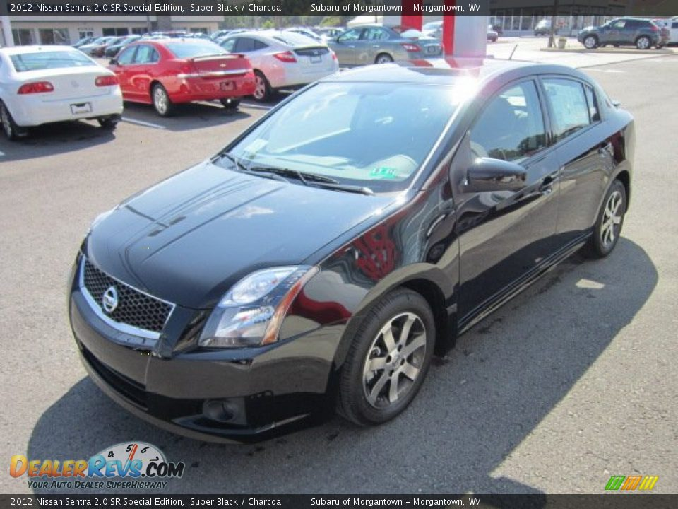 2012 nissan sentra 2 0 sr special edition super black charcoal photo 3. Black Bedroom Furniture Sets. Home Design Ideas
