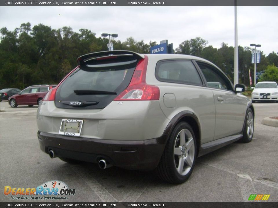 2008 volvo c30 t5 version 2 0 cosmic white metallic off. Black Bedroom Furniture Sets. Home Design Ideas