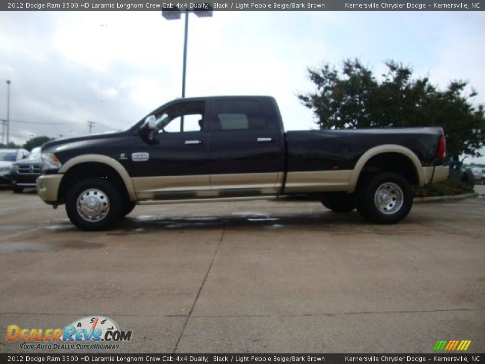 2012 Dodge Ram 3500 HD Laramie Longhorn Crew Cab 4x4 Dually Black
