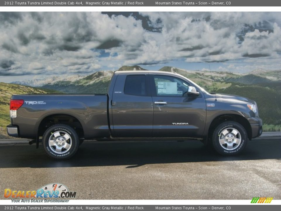 2012 toyota tundra limited double cab 4x4 magnetic gray metallic red rock photo 2. Black Bedroom Furniture Sets. Home Design Ideas