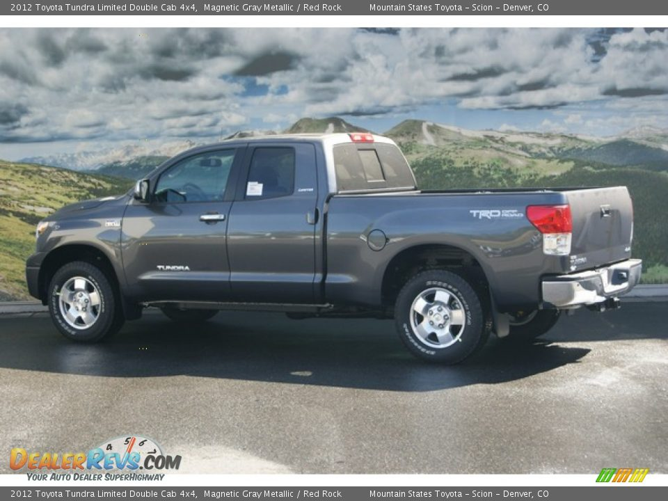 2012 toyota tundra limited double cab 4x4 magnetic gray metallic red rock photo 3. Black Bedroom Furniture Sets. Home Design Ideas