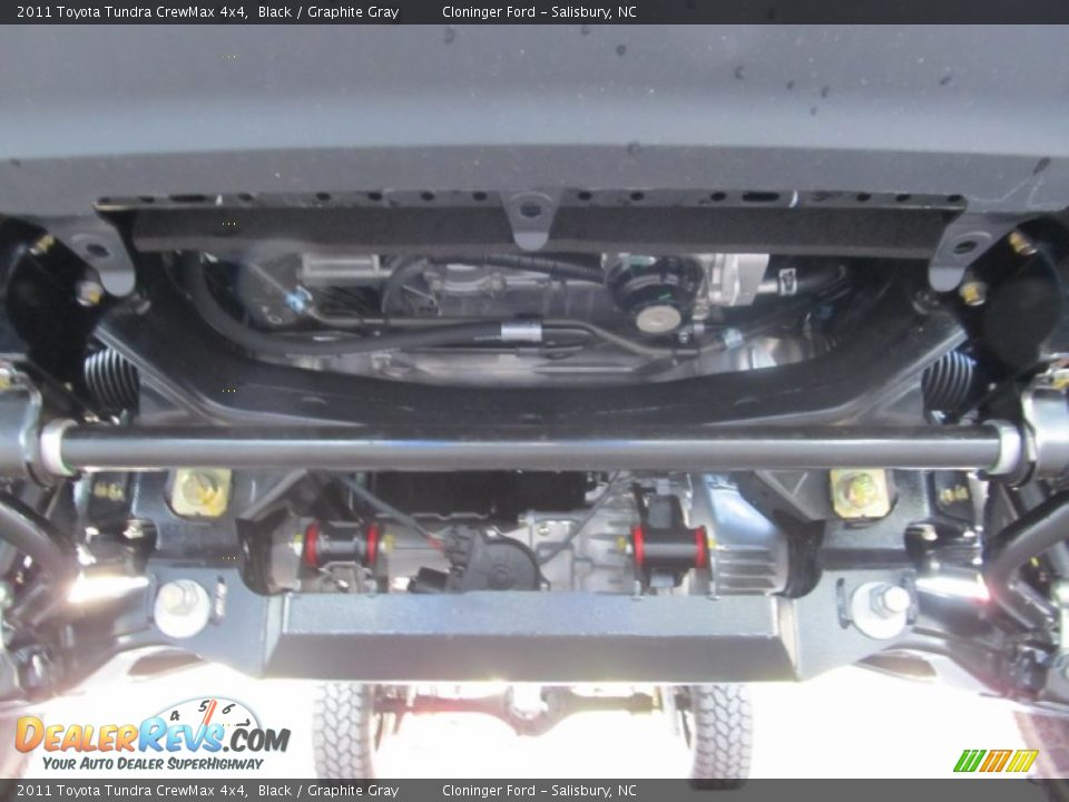 Undercarriage of 2011 Toyota Tundra CrewMax 4x4 Photo #6 ...