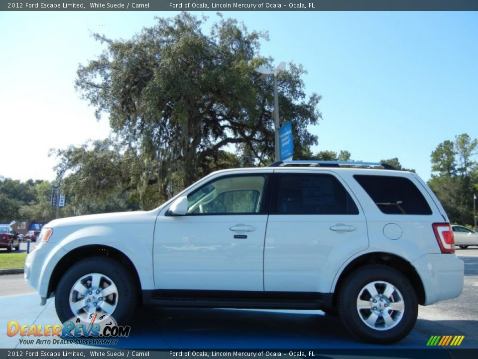 2012 ford escape limited white suede camel photo 2. Cars Review. Best American Auto & Cars Review