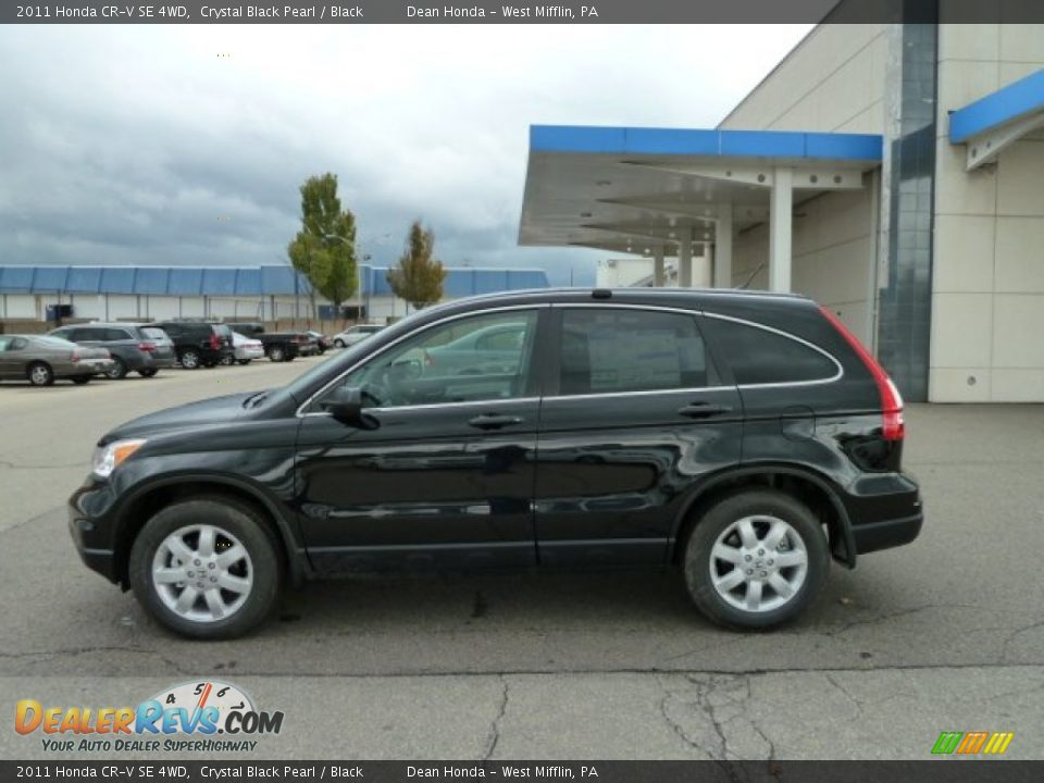 2011 Honda Cr V Se 4wd Crystal Black Pearl Black Photo