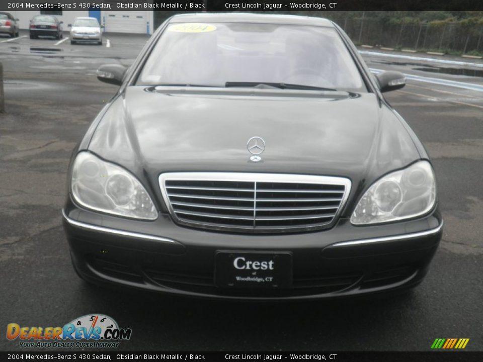 2004 mercedes benz s 430 sedan obsidian black metallic for Mercedes benz s 430