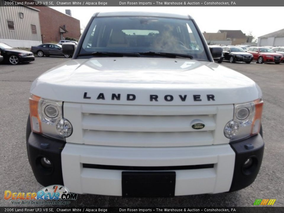 2006 land rover lr3 v8 se chawton white alpaca beige photo 3. Black Bedroom Furniture Sets. Home Design Ideas