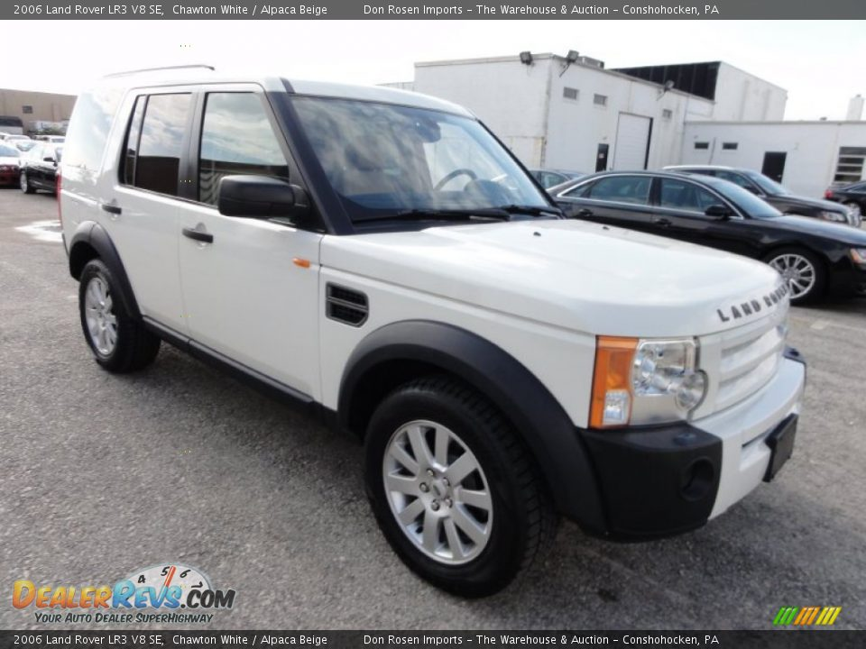 2006 land rover lr3 v8 se chawton white alpaca beige photo 4. Black Bedroom Furniture Sets. Home Design Ideas