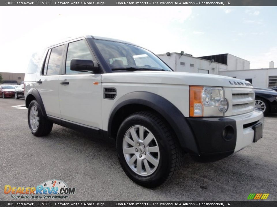 2006 land rover lr3 v8 se chawton white alpaca beige photo 5. Black Bedroom Furniture Sets. Home Design Ideas