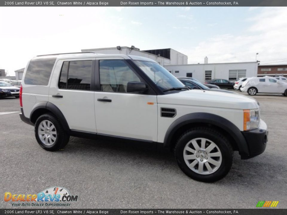 2006 land rover lr3 v8 se chawton white alpaca beige photo 6. Black Bedroom Furniture Sets. Home Design Ideas