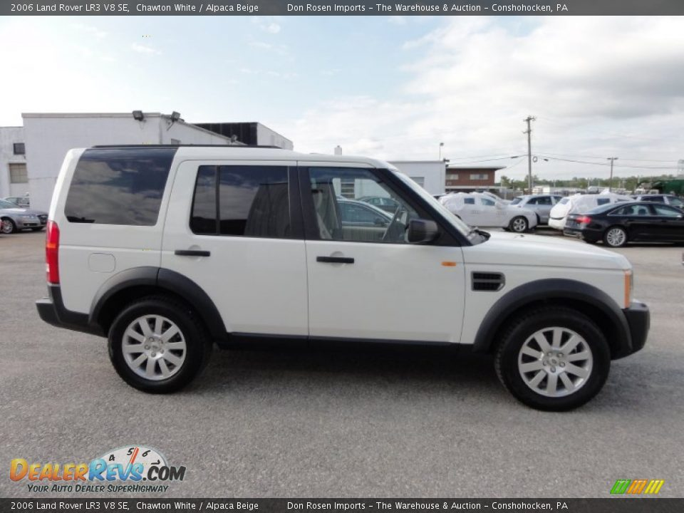 2006 land rover lr3 v8 se chawton white alpaca beige photo 7. Black Bedroom Furniture Sets. Home Design Ideas