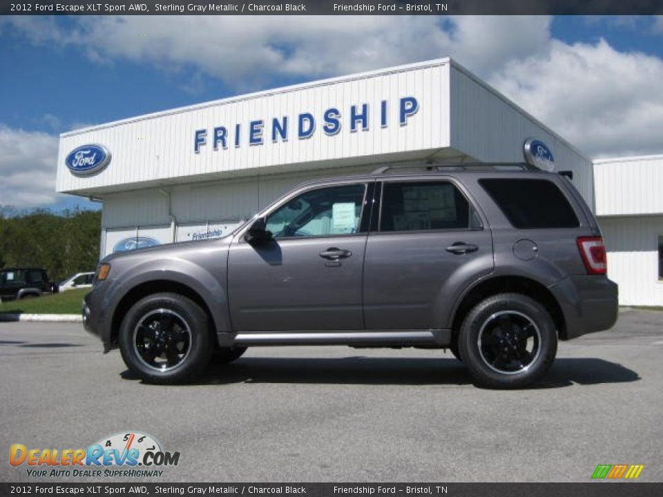2012 Ford Escape Xlt Sport Awd Sterling Gray Metallic