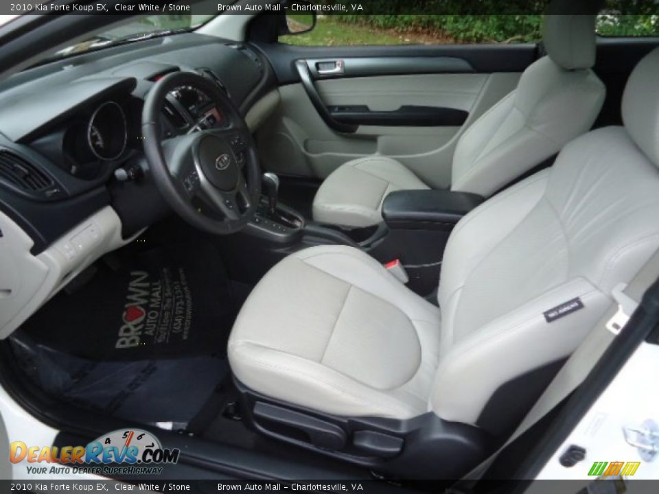 Stone interior 2010 kia forte koup ex photo 9 for 2010 kia forte koup interior