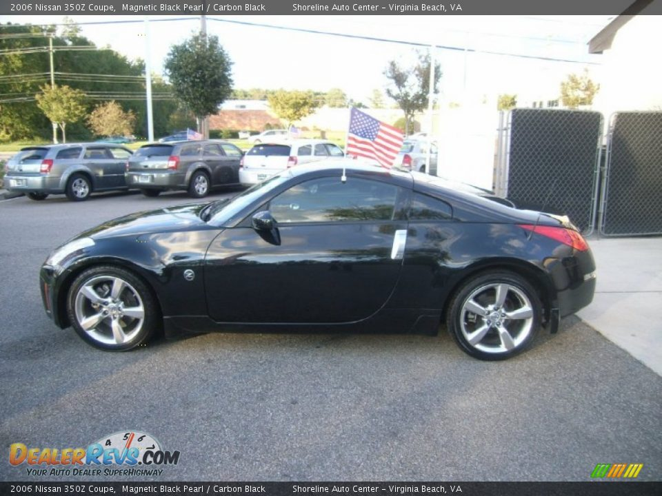 magnetic black pearl 2006 nissan 350z coupe photo 8. Black Bedroom Furniture Sets. Home Design Ideas