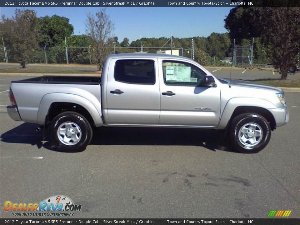 silver streak mica 2012 toyota tacoma v6 sr5 prerunner double cab photo 4. Black Bedroom Furniture Sets. Home Design Ideas