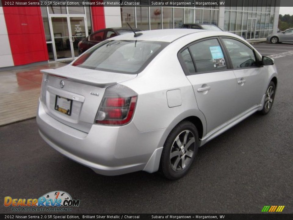 2012 nissan sentra 2 0 sr special edition brilliant silver. Black Bedroom Furniture Sets. Home Design Ideas