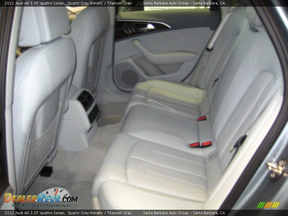 anium Gray Interior - 2012 Audi A6 3.0T quattro Sedan Photo #4 ... on