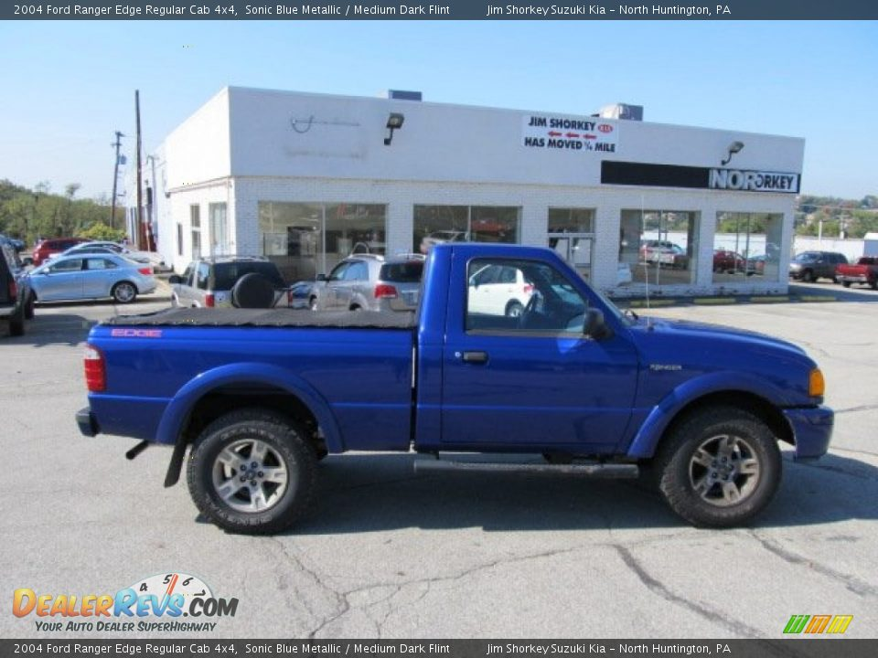 2004 Ford Ranger Edge Regular Cab 4x4 Sonic Blue Metallic