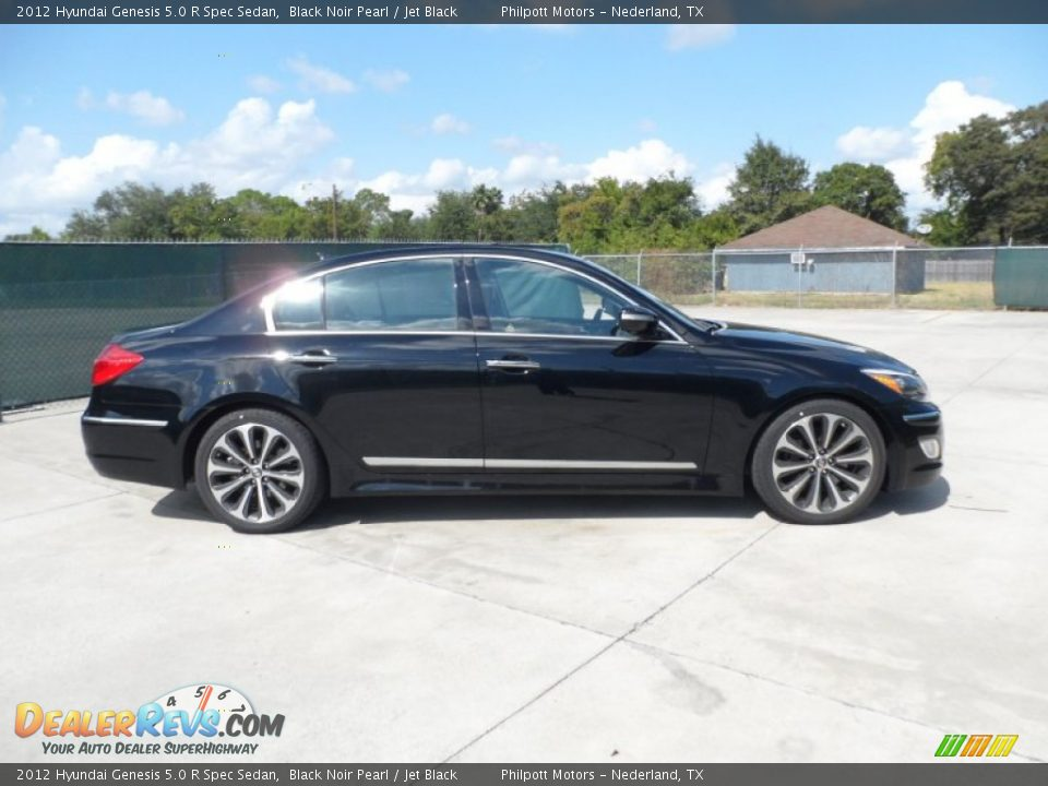 2012 hyundai genesis 5 0 r spec sedan black noir pearl jet black photo 2. Black Bedroom Furniture Sets. Home Design Ideas