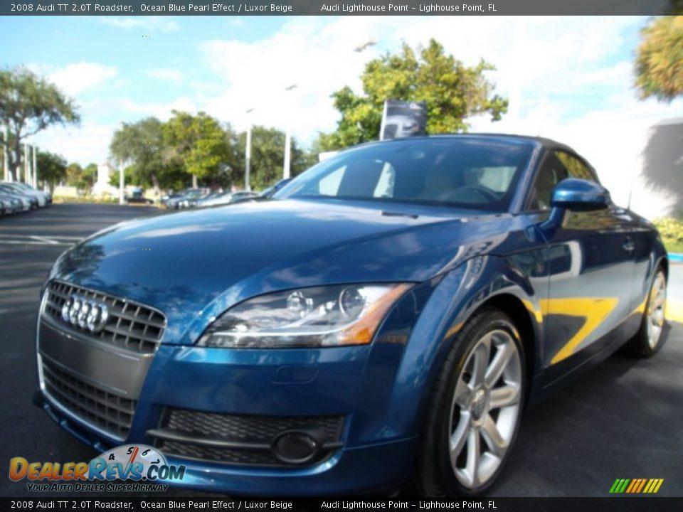 2008 Audi Tt 2 0t Roadster Ocean Blue Pearl Effect Luxor