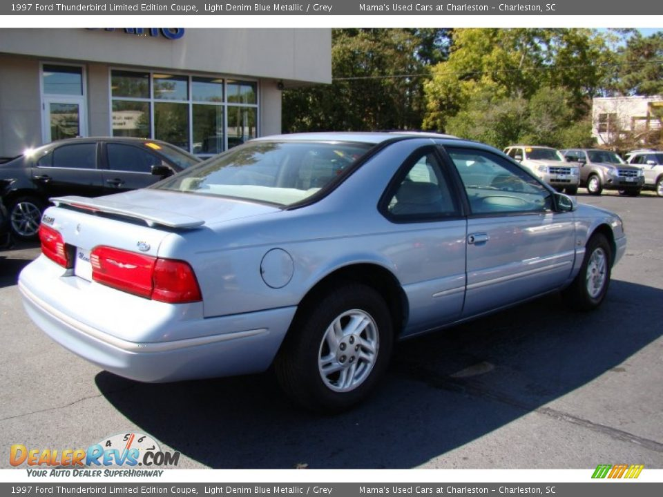 1997 ford thunderbird limited edition coupe light denim. Cars Review. Best American Auto & Cars Review