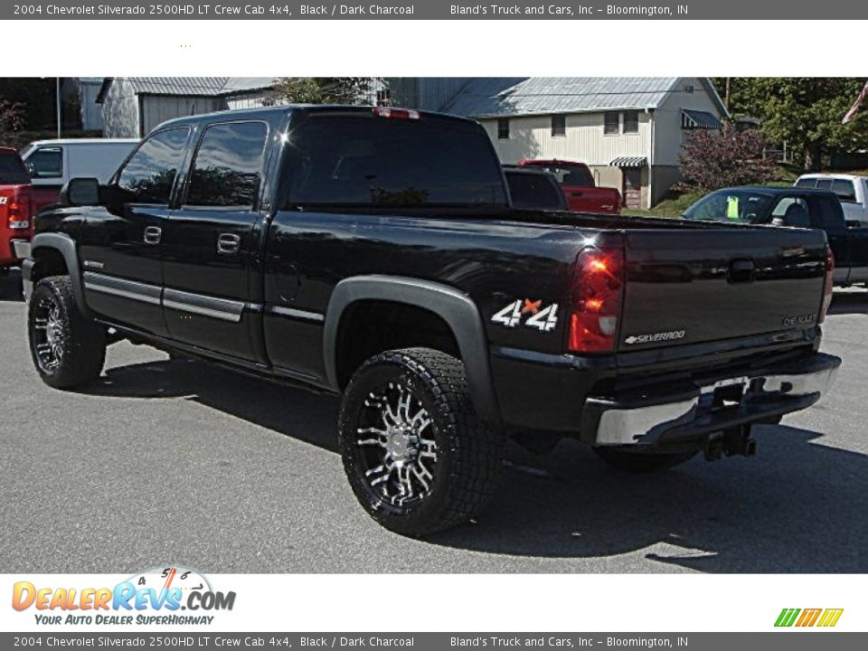 2004 chevrolet silverado 2500hd lt crew cab 4x4 black dark charcoal photo 2. Black Bedroom Furniture Sets. Home Design Ideas