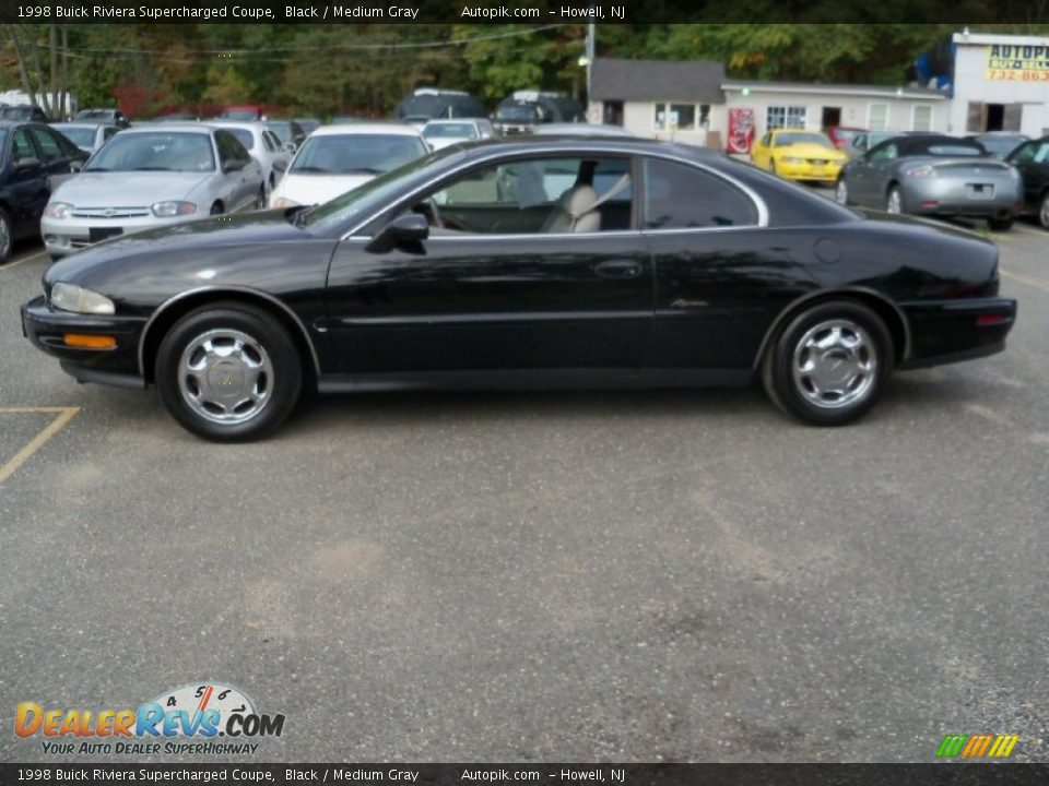 black 1998 buick riviera supercharged coupe photo 8 dealerrevs
