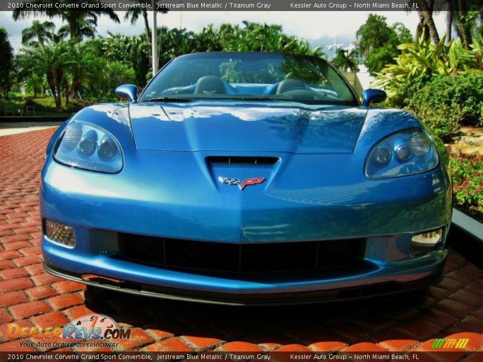2010 Used Corvette Grand Sport In Jetstream Blue Autos Post