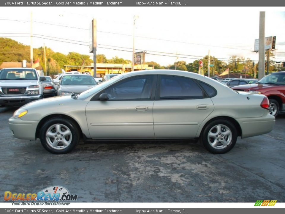 2004 Ford Taurus SE Sedan Gold Ash Metallic / Medium Parchment Photo ...