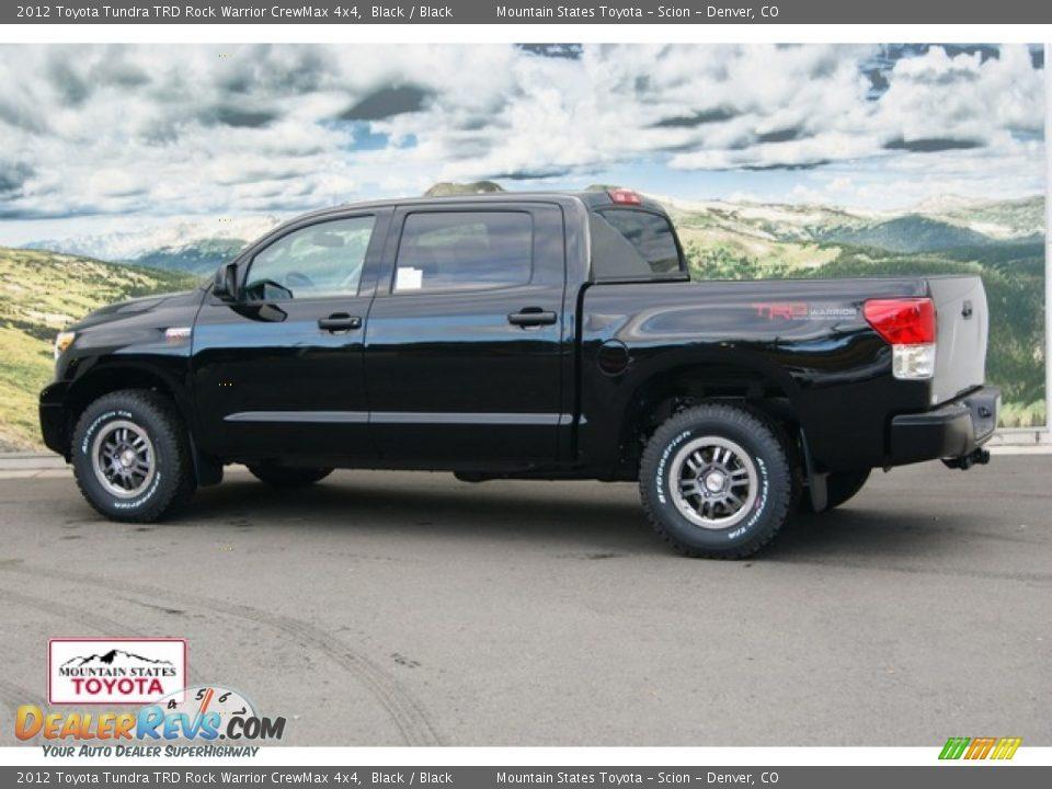 2012 Toyota Tundra TRD Rock Warrior CrewMax 4x4 Black