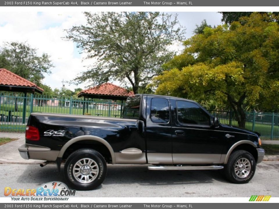 Used Car King >> 2003 Ford F150 King Ranch SuperCab 4x4 Black / Castano ...