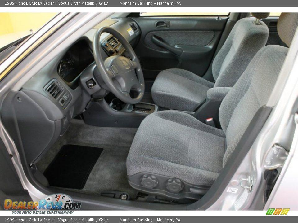 gray interior 1999 honda civic lx sedan photo 10. Black Bedroom Furniture Sets. Home Design Ideas
