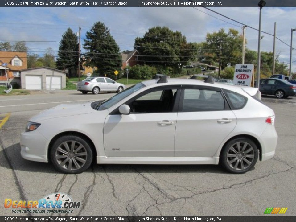 2009 subaru impreza wrx wagon satin white pearl carbon black photo 4. Black Bedroom Furniture Sets. Home Design Ideas