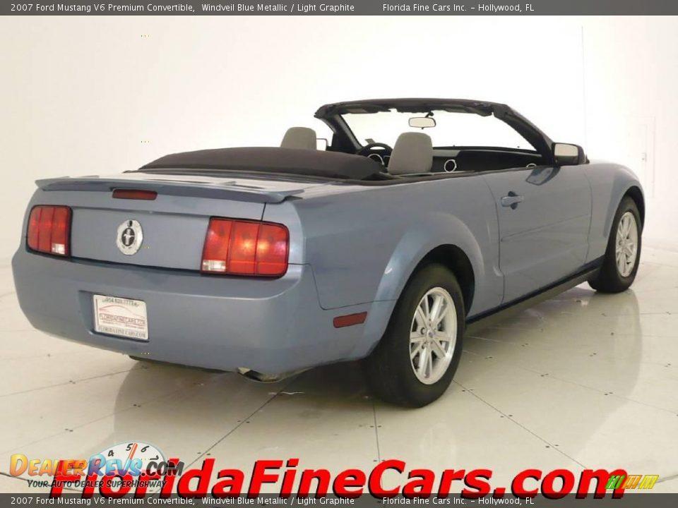 2007 Ford Mustang V6 Premium Convertible Windveil Blue
