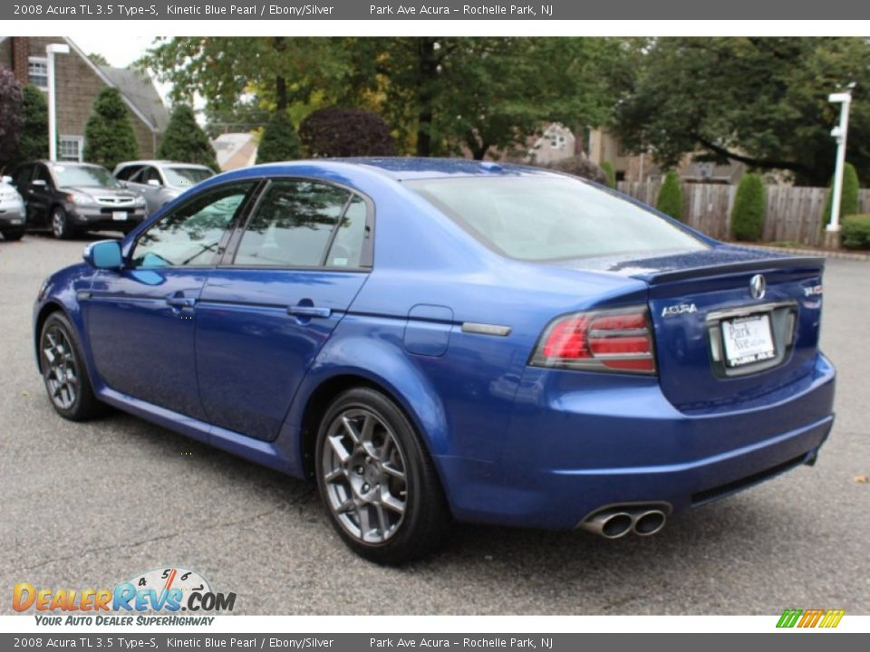 kinetic blue pearl 2008 acura tl 3 5 type s photo 5. Black Bedroom Furniture Sets. Home Design Ideas