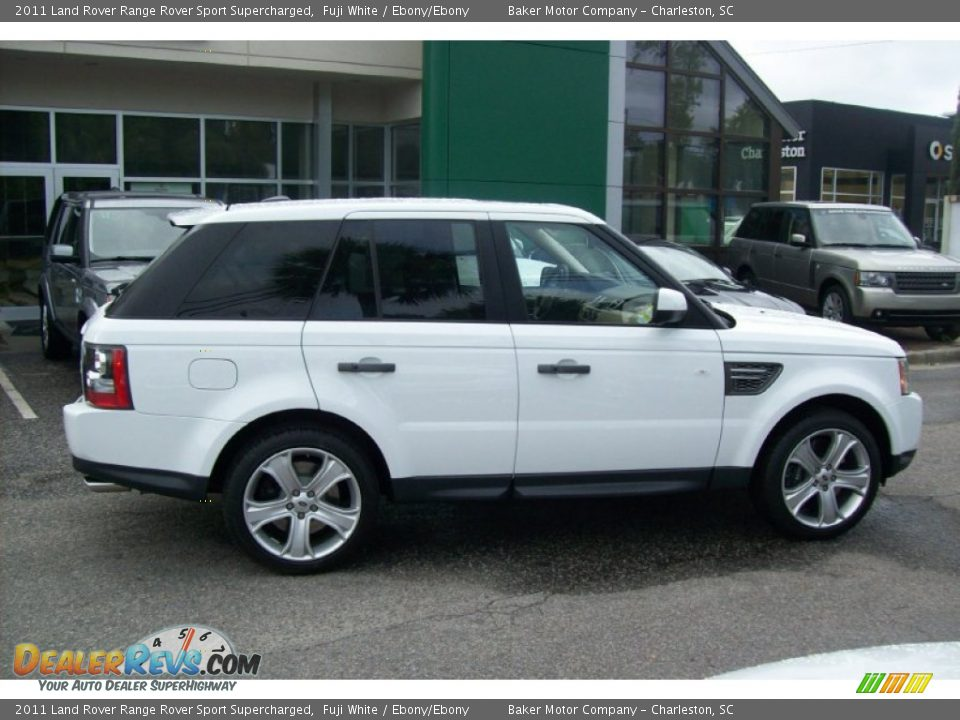 2011 Land Rover Range Rover Sport Supercharged Fuji White