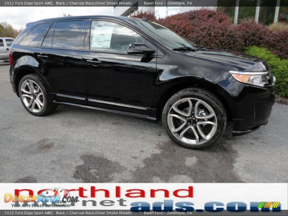 2012 ford edge sport awd black charcoal black silver smoke metallic photo 2. Black Bedroom Furniture Sets. Home Design Ideas