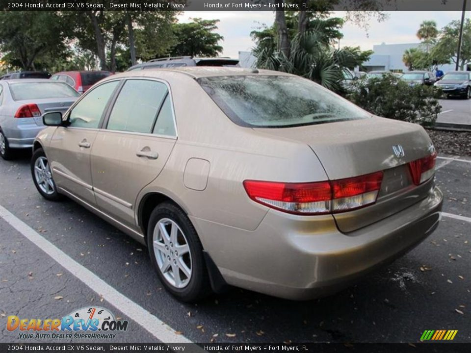 2004 honda accord ex v6 sedan desert mist metallic ivory. Black Bedroom Furniture Sets. Home Design Ideas