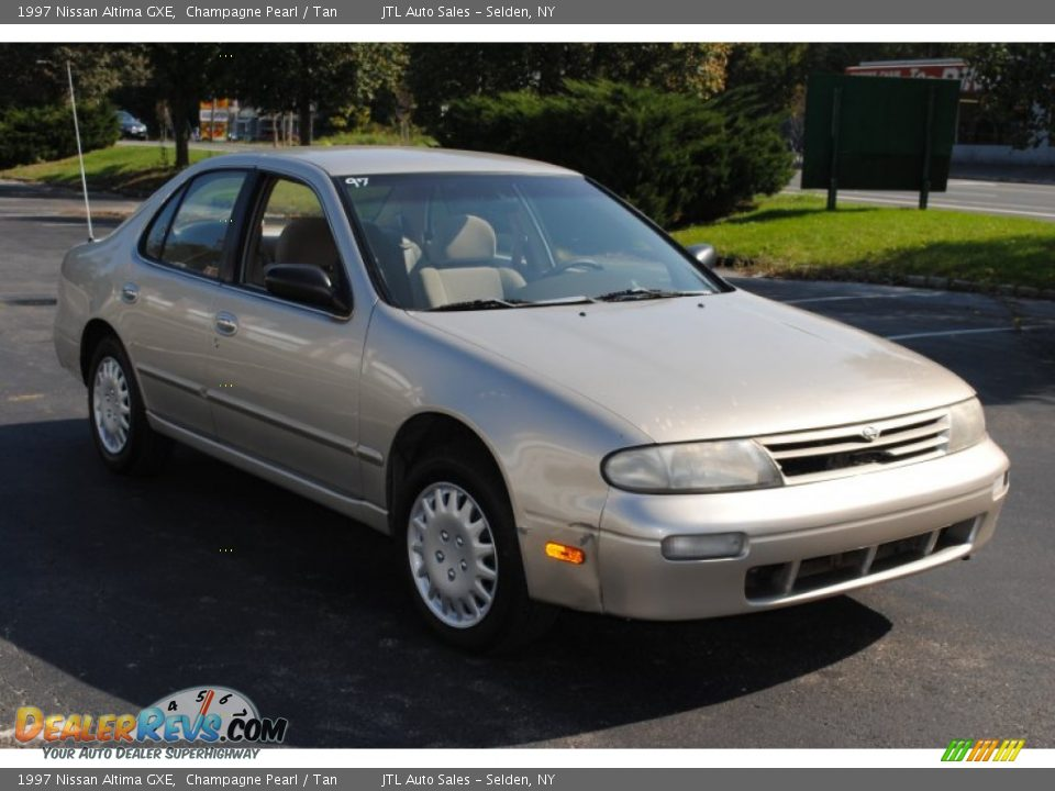1997 Nissan Altima Gxe Champagne Pearl Tan Photo 7
