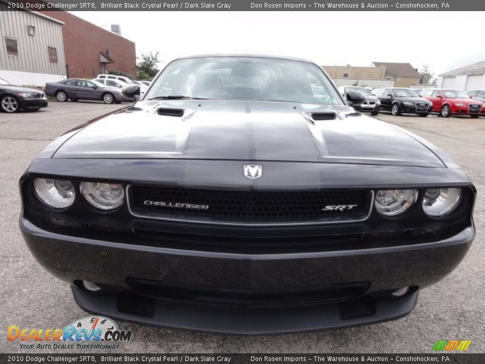 Brilliant Black Crystal Pearl 2010 Dodge Challenger Srt8