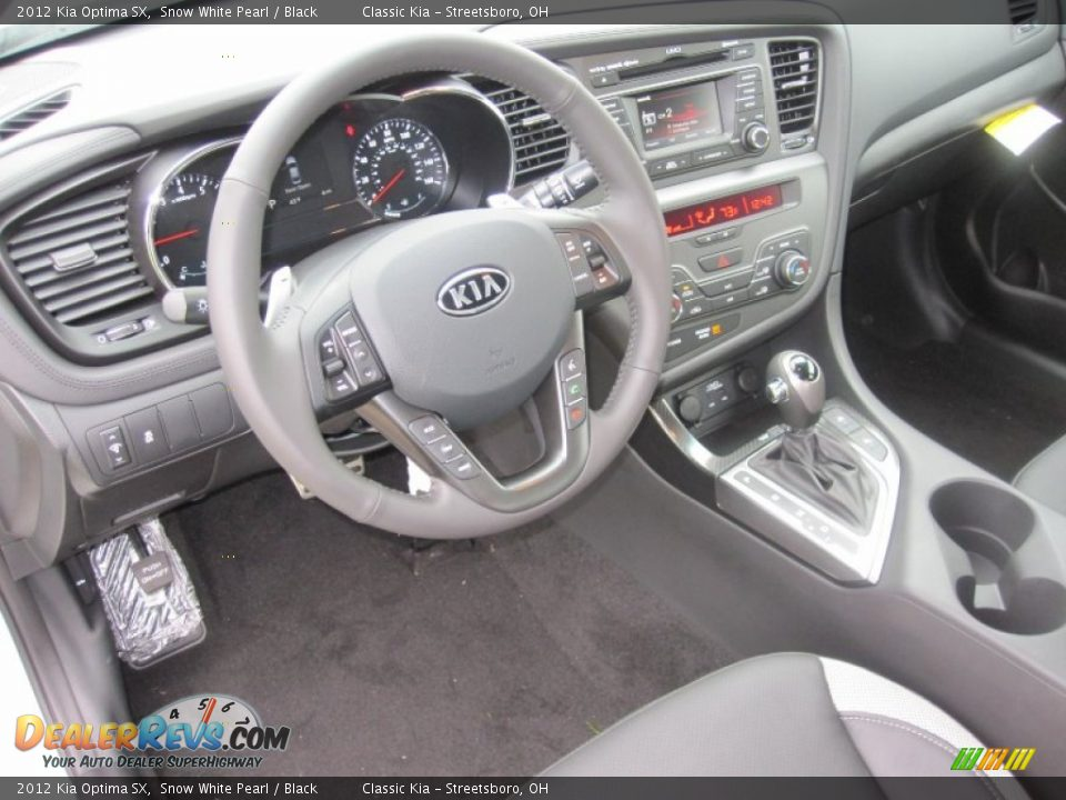 Kia Optima Black Interior Black Interior 2012 Kia